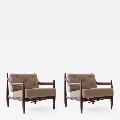 Jean Gillon Jean Gillon pair of Armchairs
