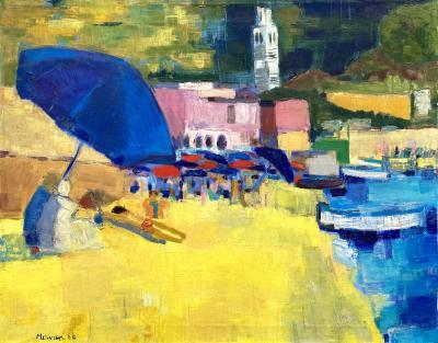 Jean Jacques Morvan Le Parasol Bleu