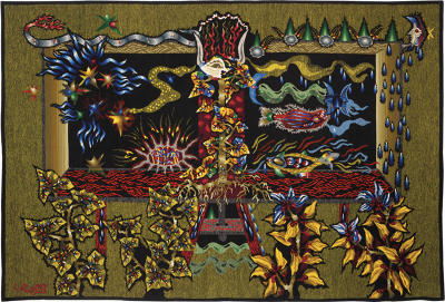 Jean Lurcat Jean Lur at tapestry Open Waters Circa 1950