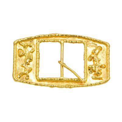Jean Mahie Jean Mahie 22kt Yellow Gold Belt Buckle