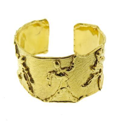 Jean Mahie Jean Mahie Gold Cuff Bracelet