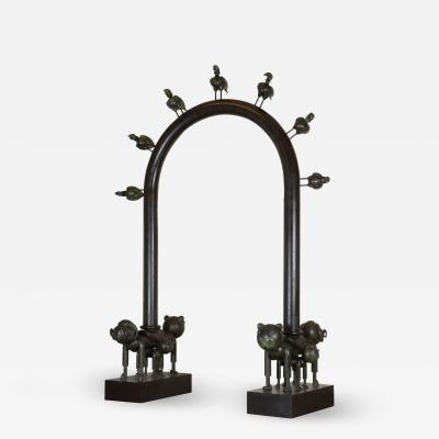 Jean Marie Fiori Birds Arch
