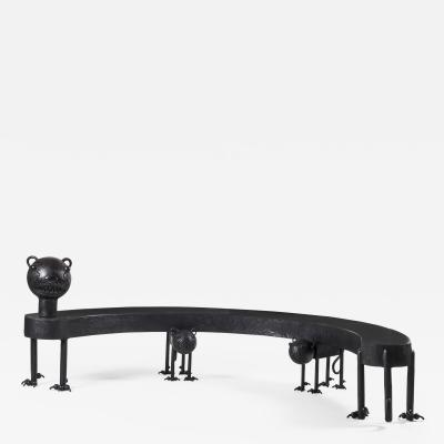 Jean Marie Fiori Cat Bench