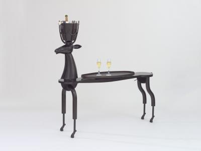 Jean Marie Fiori Champagne Console