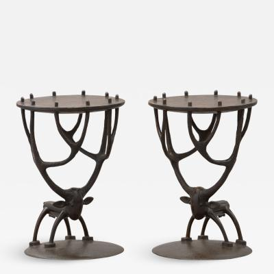 Jean Marie Fiori Deer Side Tables