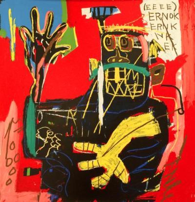 Jean Michel Basquiat After Jean Michel Basquiat Ernok from Portfolio 1 1983 2001