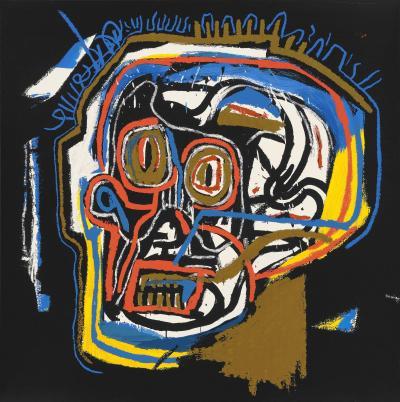Jean Michel Basquiat After Jean Michel Basquiat Head from Portfolio 1 1983 2001