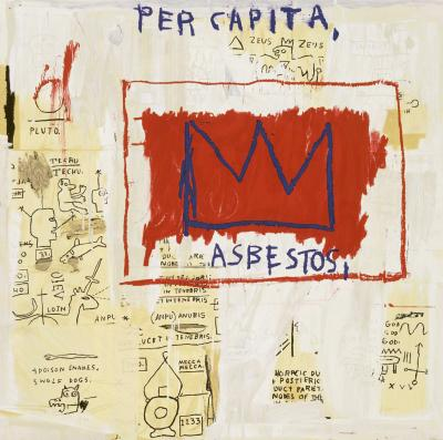 Jean Michel Basquiat After Jean Michel Basquiat Per Capita from Portfolio 1 1983 2001