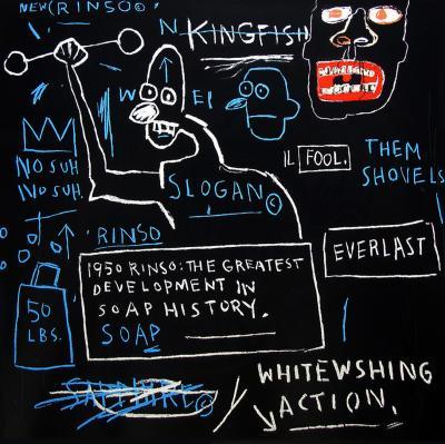 Jean Michel Basquiat After Jean Michel Basquiat Rinso from Portfolio 1 1983 2001