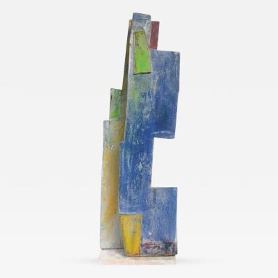Jean Michel Correia Painted Wood and Board Construction 1995