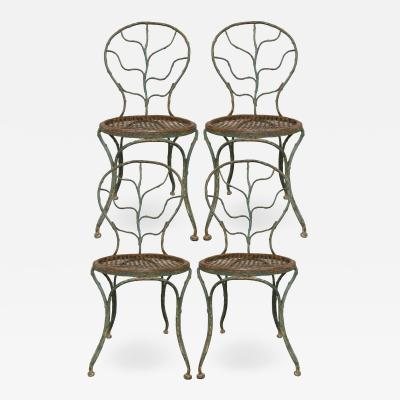 Jean Michel Frank Four garden chairs by Jean Michel Frank 1895 1941
