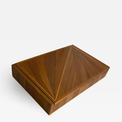 Jean Michel Frank Jean Michel Frank attributed hay marquetry refined vintage boxe