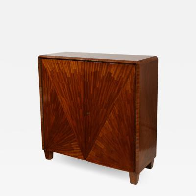 Jean Michel Frank Parquetry Cabinet in the Jean Michel Frank Manner