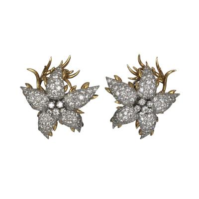 Jean Michel Schlumberger Schlumberger star earrings