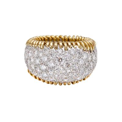 Jean Michel Schlumberger Schlumberger stitches ring