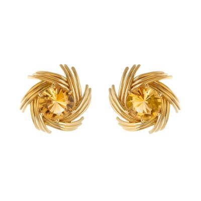 Jean Michel Schlumberger Schlumberger swirl earrings