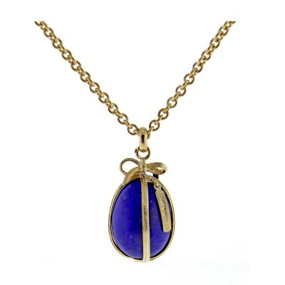 Jean Michel Schlumberger Tiffany Co Schlumberger Lapis Egg Pendant