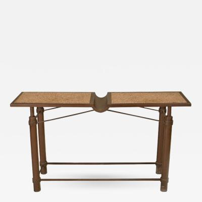 Jean Michel Wilmotte Iconic Mid Century Console Table