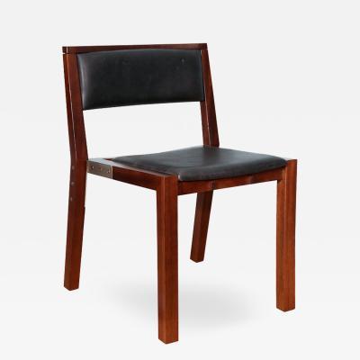 Jean Michel Wilmotte Prototype Side Chair by Jean Michel Wilmotte for Tecno