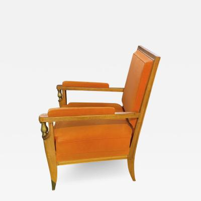 Jean Pascaud Jean Pascaud and Vadim Androusov superb Neo classic desk chair