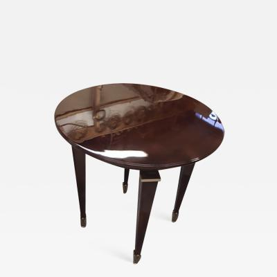 Jean Pascaud Jean Pascaud superb lacquered coffee table with gold bronze accent