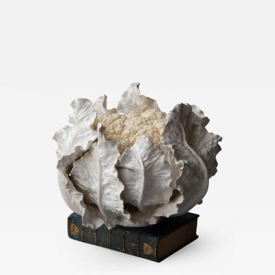 Jean Paul Gourdon VERY LARGE CAULIFLOWER by JEAN PAUL GOURDON