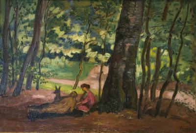 Jean Pesk In the Underbrush