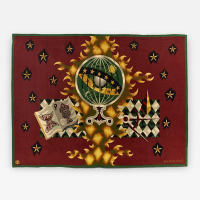 Jean Picart Le Doux Superb Picart Le Doux Aubusson Wool Tapestry