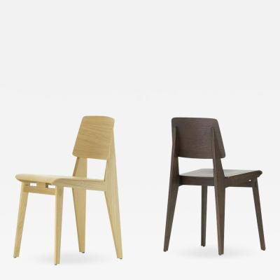 Jean Prouv Jean Prouv Chaise Tout Bois Chair in Oak for Vitra
