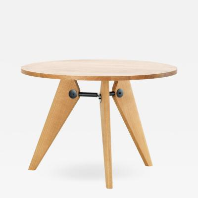 Jean Prouv Jean Prouv Gu ridon Dining Table in Natural Oak for Vitra