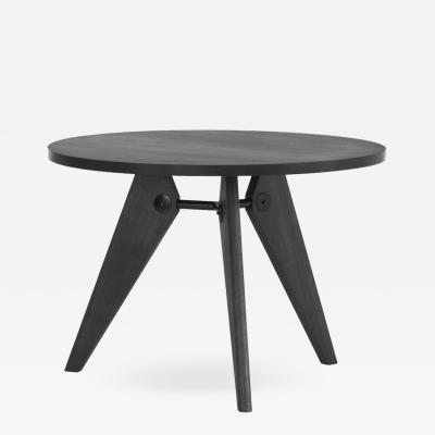 Jean Prouv Jean Prouv Gu ridon Dining Table in Smoked Oak for Vitra