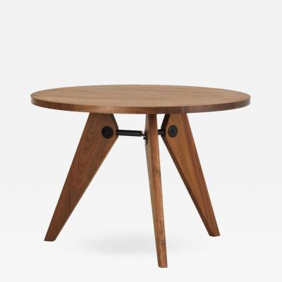 Jean Prouv Jean Prouv Gu ridon Dining Table in Walnut for Vitra