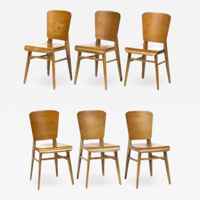 Jean Prouv Jean Prouv Style Dining Chairs