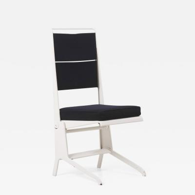 Jean Prouv Metal Folding Chair with Lifting Seat by Jean Prouv for Tecta Germany