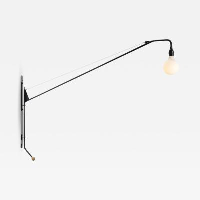 Jean Prouv Monumental Jean Prouv Potence Pivoting Wall Light for Vitra