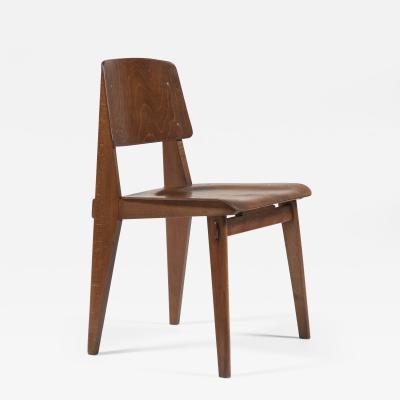 Jean Prouv Standard chair Tout bois