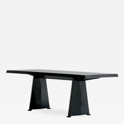 Jean Prouv Vitra Trap ze Table in Black by Jean Prouv