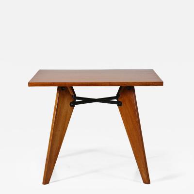 Jean Prouv tavolo da pranzo FRANCESE attribuito a Jean Prouv