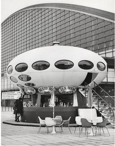 Jean Ribi re 1960 Futuro House La D fense Paris Jean Ribi re