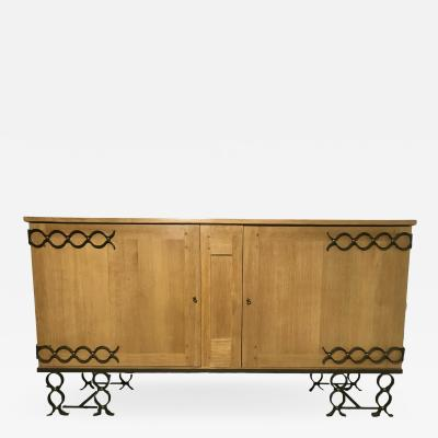 Jean Roy re 1940s Oak Buffet By Jean Royere