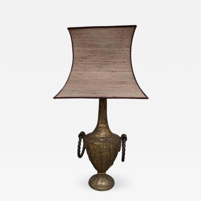 Jean Roy re A Cast Brass Table Lamp in the style of Jean Royere France 1940