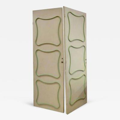 Jean Roy re A Pair of Interior Doors by Jean Royere