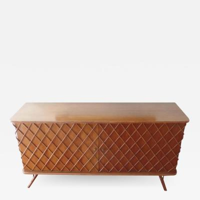 Jean Roy re French Mid Century Modern Croissilon Sideboard Credenza by Jean Royere 1940