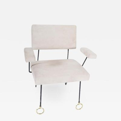 Jean Roy re French Modern Armchair 1950