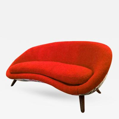 Jean Roy re Jean Royere Documented Rarest oeuf One Rarest Couch