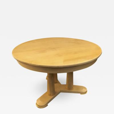 Jean Roy re Jean Royere documented sycamore rarest extendable dinning table