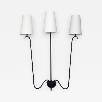 Jean Roy re Jet deau Wall Sconce 3 Arms