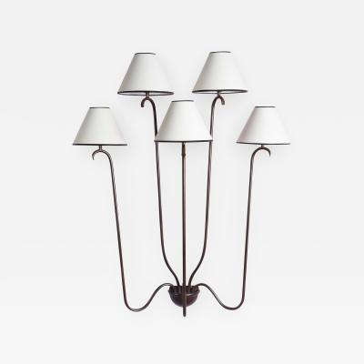 Jean Roy re Jet deau Wall Sconce 5 Arms