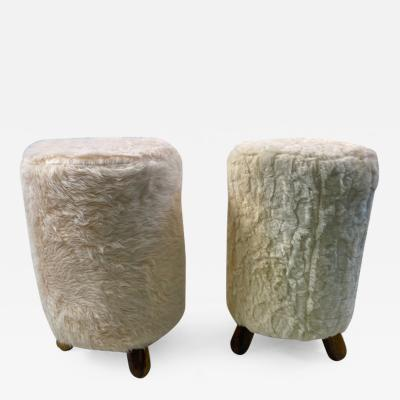 Jean Roy re MODERNIST STOOLS IN THE MANNER OF JEAN ROYERE