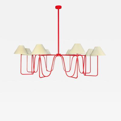Jean Roy re ONDULATION chandelier by Jean ROYERE